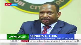 Governor Sonko\'s strategy to get back his powers