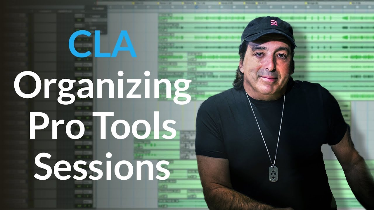 Organizing Pro Tools Sessions