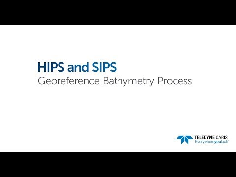 Georeference Bathymetry Process