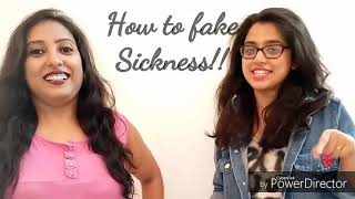 How to fake sickness to your boss!!!