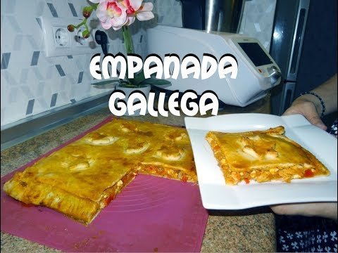 Receta de Empanada Gallega Monsieur Cuisine Connect Lidl Silvercrest