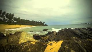preview picture of video 'Sri Lanka Timelapse Tangalle Beach (gopro)'
