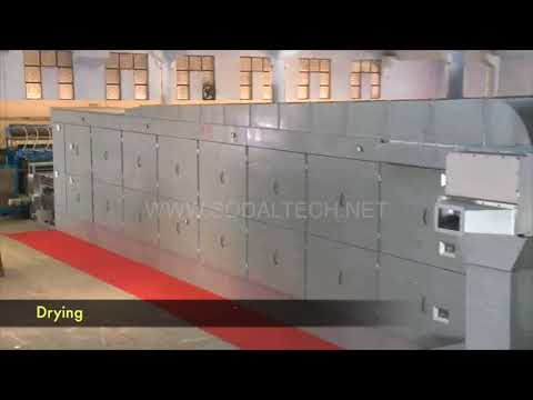 Multi Side Rotary Pulp Moulding Machine