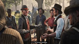 Red Dead Redemption 2 - Agent Milton & Ross Enter Dutch Gangs Camp