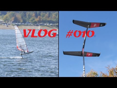 First time Windsurf foiling – Fanatic H9 foil