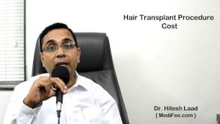 Cost of Hair Transplant Procedure in India