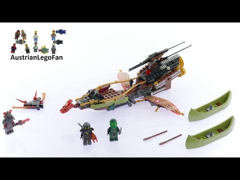 Vidéo LEGO Ninjago 70623 : La poursuite en vol