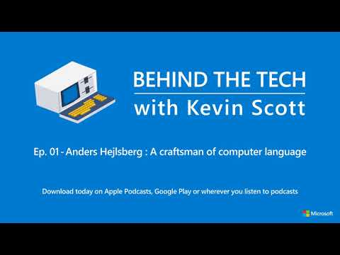 Episode 1 - Anders Hejlsberg: A craftsman of computer language