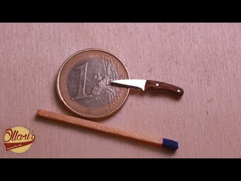 Turn a Cutter Blade into a small Hunting Knife