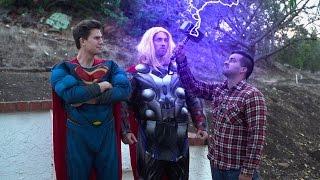 Juan vs. Thor vs. Superman - David Lopez