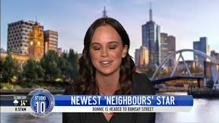 Bonnie Anderson On Joining Neighbours   Studio 10