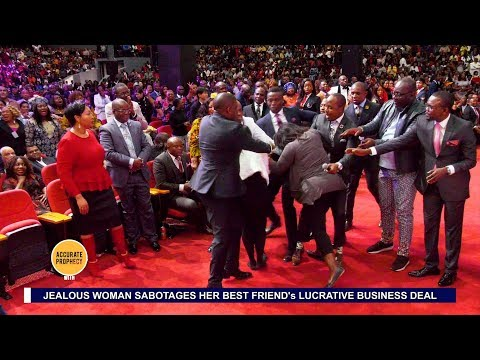 Unbelievable! Best friends fight in church as pastor says one is the other's enemy