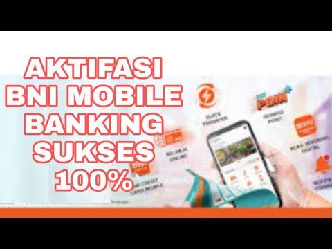 AKTIFASI BNI MOBILE BANKING SUKSES 100%