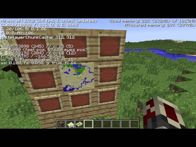 Mine Maps Tutorial Na Minecraft tip how to make a map wall in