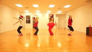 Zumba - Rockin' Around the Christmas Tree covered by WinnipegZumba Girls