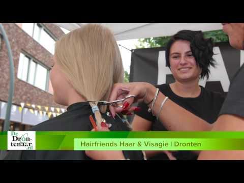 VIDEO | Roxanne Sterk schenkt blonde lokken aan stichting Haarwensen