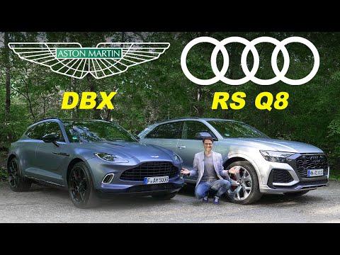 Audi RSQ8 vs Aston Martin DBX 🔥  performance SUV comparison review!