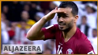 🇦🇪 🇶🇦 Qatar thrash UAE to reach Asian Cup football final | Al Jazeera English