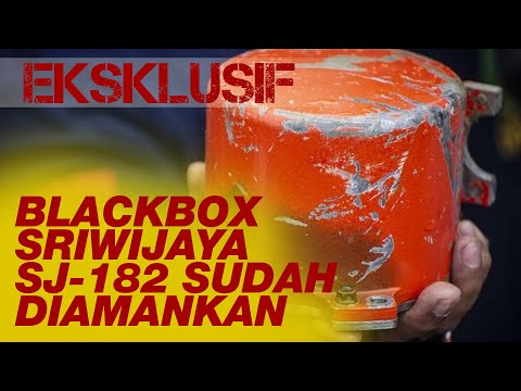 Blackbox Sriwijaya SJ-182 Sudah Diamankan
