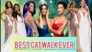 Best Catwalk Ever Miss Universe 2015 & 2018