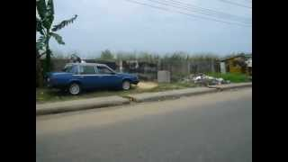 preview picture of video 'Streets of Lagos Tuck Tuck Tour 2008'