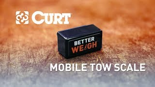 CURT (51701): BetterWeigh™ Mobile Towing Scale