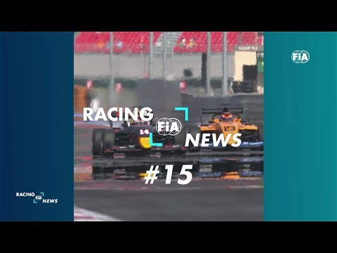 FIA RACING NEWS #15