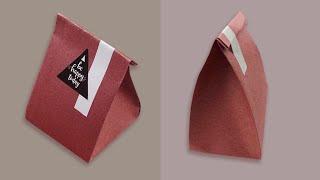 Origami Paper Gift Bag - Tutorial