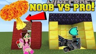 Minecraft: NOOB VS PRO!!! - BOMB SURVIVAL! - Mini-Game