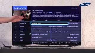 Samsung TV 2014 - 06 TV-Guide / USB-Recording / Aufnahmen