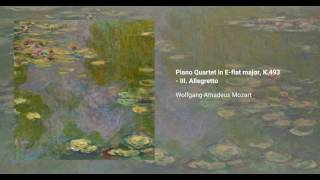 Piano Quartet in E-flat major, K. 493