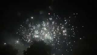 preview picture of video 'Feuerwerk zur Mannheim Oktobermess, 03.10.2014'