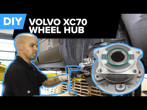 Volvo XC70 Wheel Hub Replacement - Whirring Noise? (S60, V70, S80)