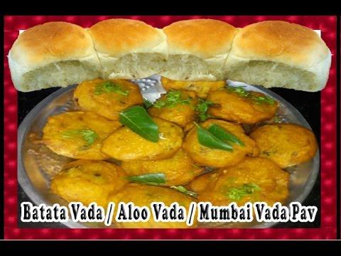 Batata Vada / Aloo Vada / Mumbai Vada Pav / Mumbai Street Food