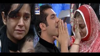 """Most Heart Breaking """"Naiki Segment"""" In Shan-e-ramzan, How people got emotional and crying"""