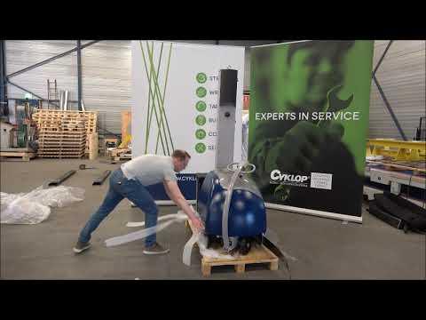 CSM 211 / 212 / 213: Machine uitpakken