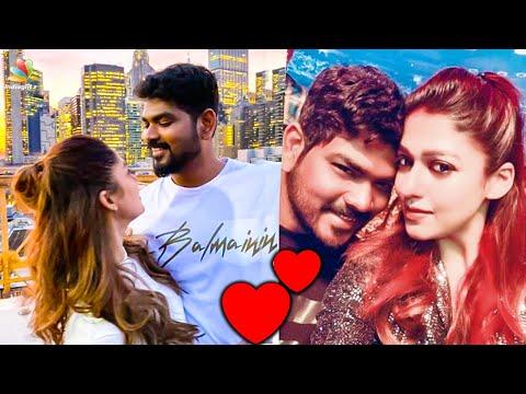 Romantic Eve! Nayanthara Birthday Celebration in New York | Vignesh Shivan | Hot Tamil News