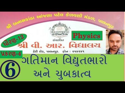 4.6 ગતિમાન વિદ્યુતભારો અને ચુંબકત્વ (Physics STD-12) By Bhaveshbhai Prajapati(V.R.Vidhyalay)