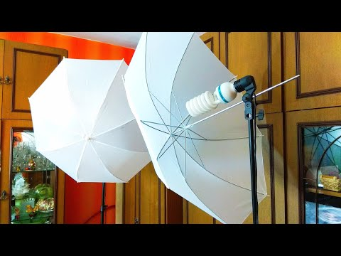 Студийный фото-зонт с сайта AliExpress / Studio Photo Umbrella from AliExpress