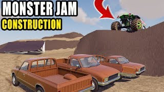 BUILDING MONSTER JAM TRACK! | CONSTRUCTION | FARMING SIMULATOR 2019