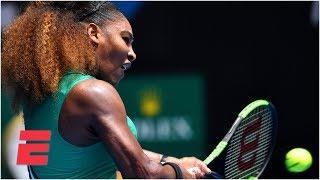 Serena Williams dominates first-round matchup | 2019 Australian Open Highlights