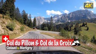 Driving the Col du Pillon & Col de la Croix mountain pass in Switzerland