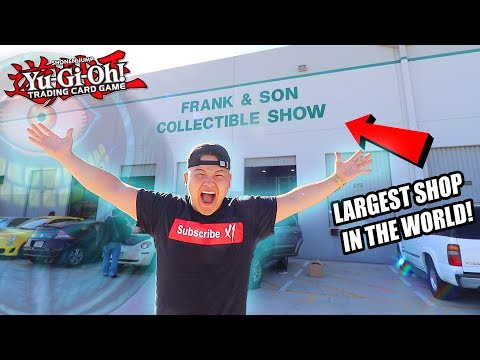 Yu-Gi-Oh! THE BIGGEST CARD STORE IN WORLD! (TCG YuGiOh Shop in California Tour Vlog 2019)