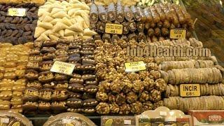 Прогулка по Стамбулу - Египетский базар, шопинг в Стамбуле