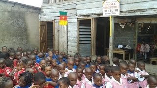 preview picture of video 'afronum / ADAF, Ecole Bakossi, Loum, Cameroon, subtitles E/GER'