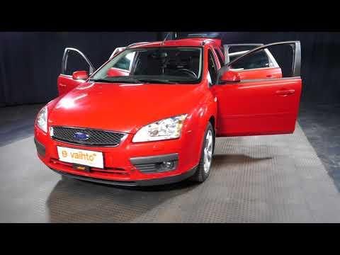 Ford FOCUS 1.6 Ti-VCT Ghia Wagon ***LÖYTÖPIHA***, Farmari, Manuaali, Bensiini, BTG-293