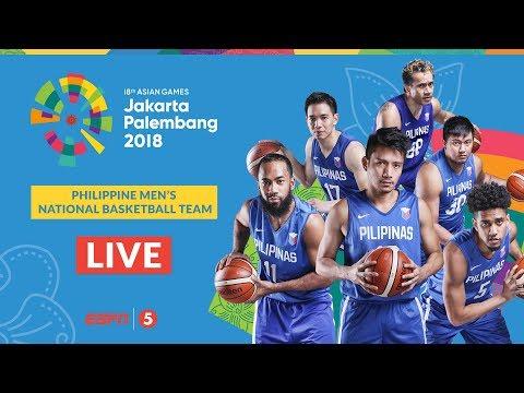 Basketball M Prelims: Kazakhstan vs Philippines | 2018 Asian Games