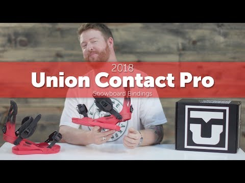 2018 Union Contact Pro Snowboard Bindings – Review