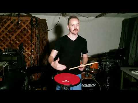 Your basic paradiddle rudiment exercise with three different variations of accents.