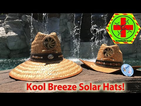 Kool Breeze Solar Hat Quick Review!